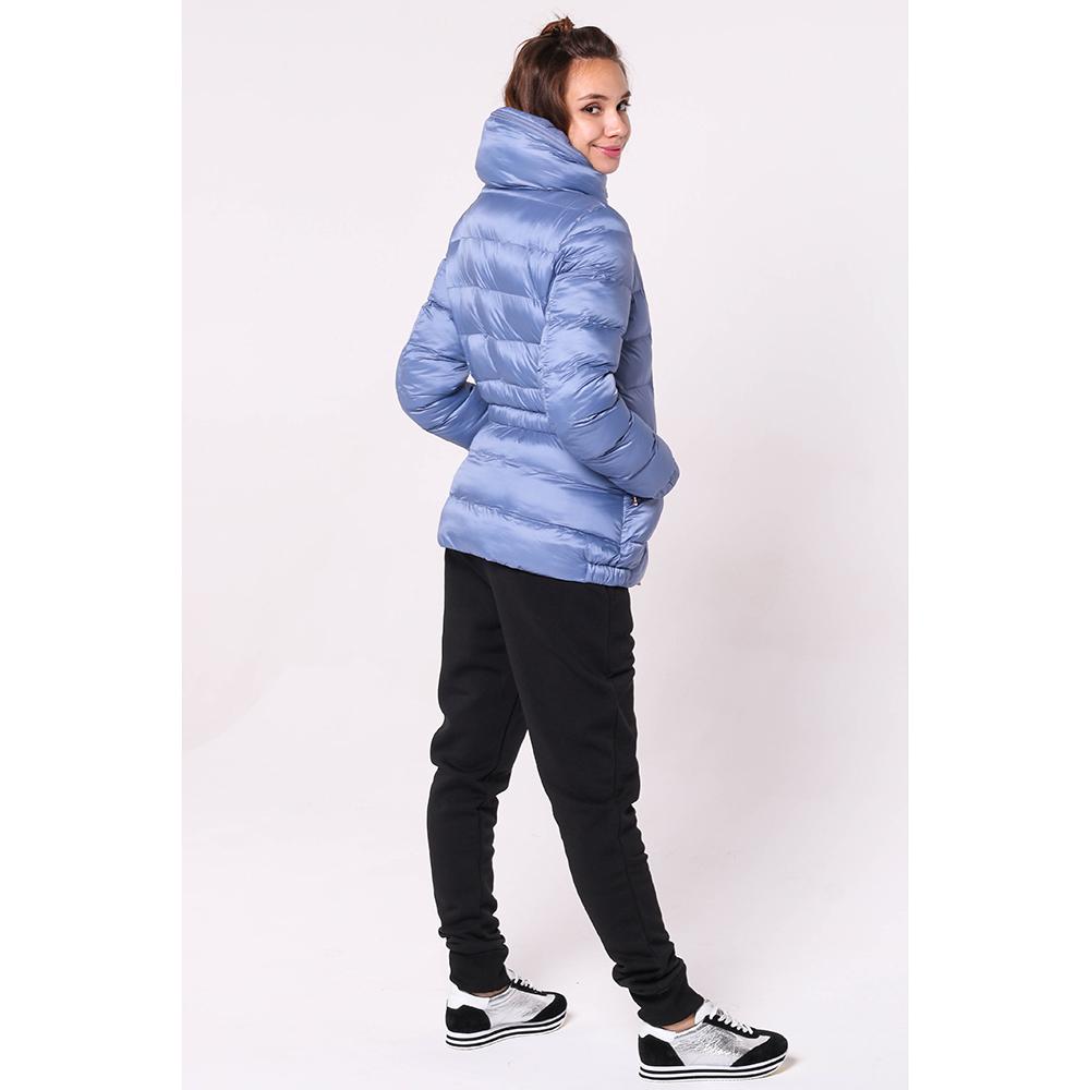 Синяя куртка Ea7 Emporio Armani с капюшоном