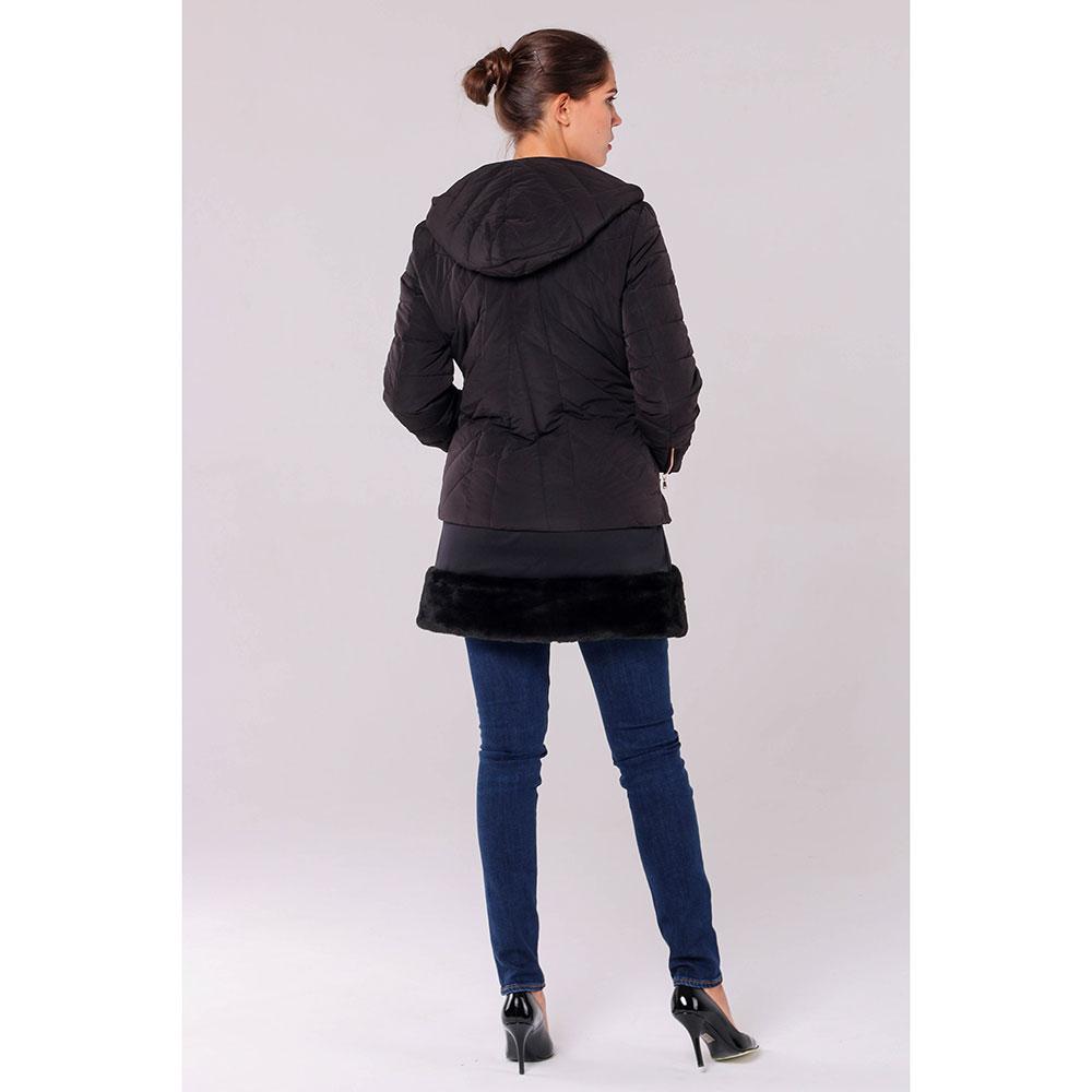 Комплект из куртки и жилета Ea7 Emporio Armani черного цвета