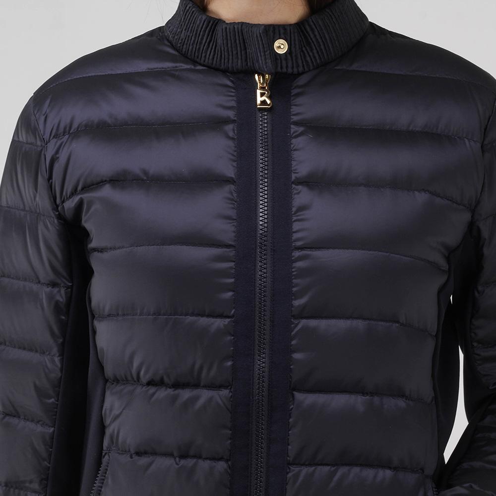 Синяя куртка Bogner с горизонтальной строчкой