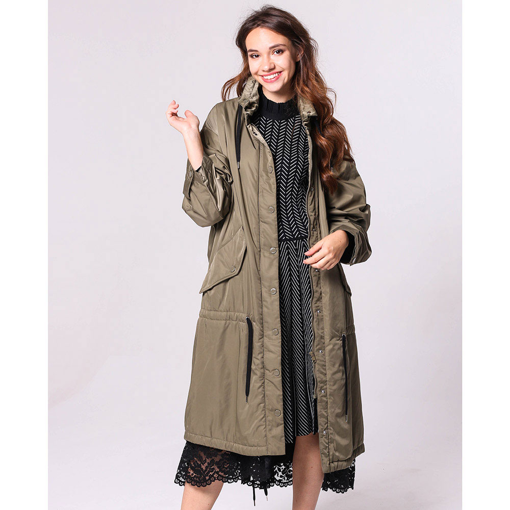 Длинная куртка Love Moschino с кружевом
