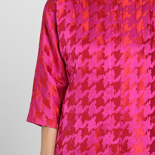 Пальто Kristina Mamedova розового цвета с рукавом три четверти, фото