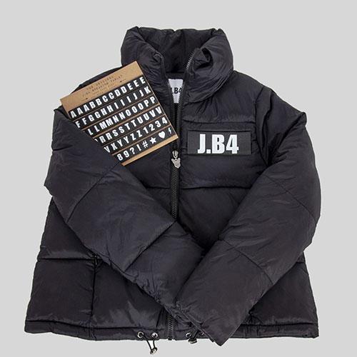 Короткая куртка J.B4 Just Before черного цвета, фото