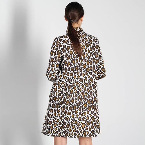 Льняная куртка Stella McCartney с анималистичным принтом, фото