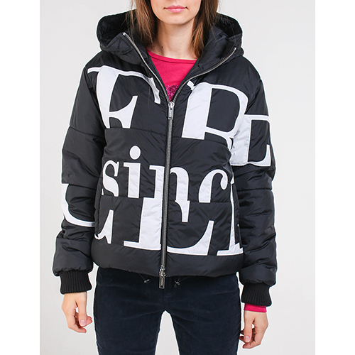 Черная куртка Iceberg с капюшоном, фото
