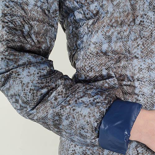 Демисезонная куртка на пуговицах Cerruti с анималистическим принтом, фото