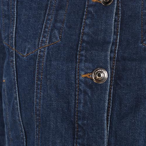 Джинсовая куртка Trussardi Jeans укороченная, фото