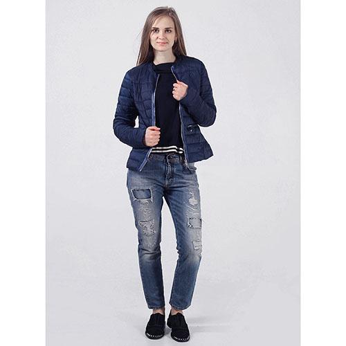 Куртка Rinascimento синего цвета, фото