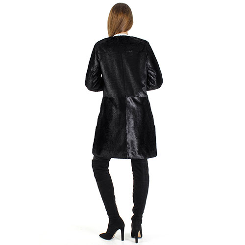 Пальто Urbancode London из искусственного меха пони, фото