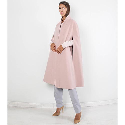 Пончо Plein Sud нежно-розового цвета, фото
