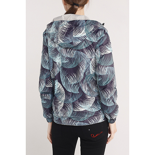 Двухсторонняя куртка Jott с флористическим принтом, фото