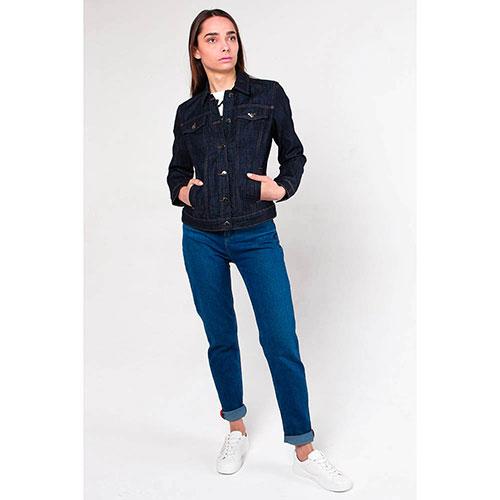 Джинсовая куртка Emporio Armani на пуговицах, фото