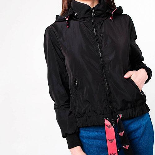 Свободная куртка Emporio Armani с завязкой, фото