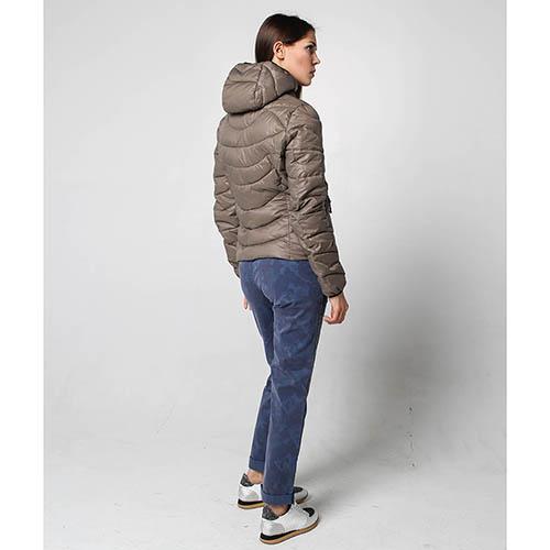 Куртка Ciesse Piumini серого цвета на пуху, фото