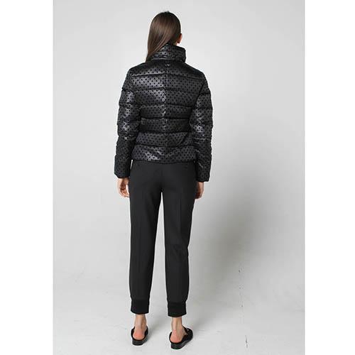 Черная куртка Fracomina на пуху, фото
