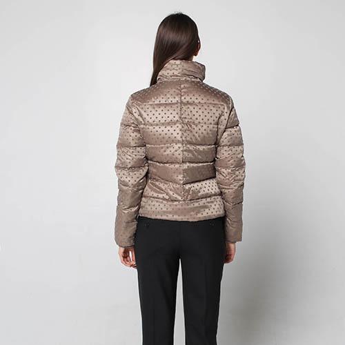 Куртка-пуховик Fracomina коричневого цвета, фото