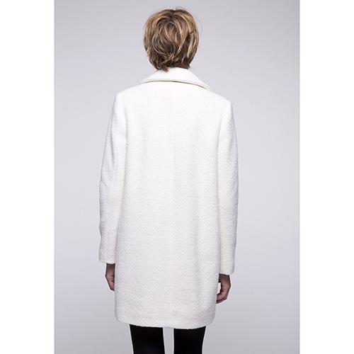 Мягкое пальто Trench & Coat белого цвета, фото