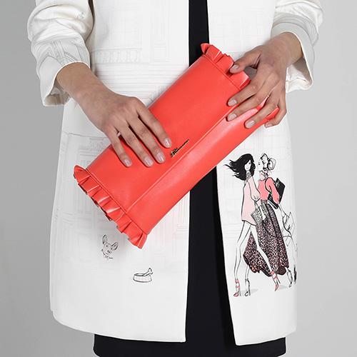 Весеннее пальто Elisabetta Franchi белого цвета, фото