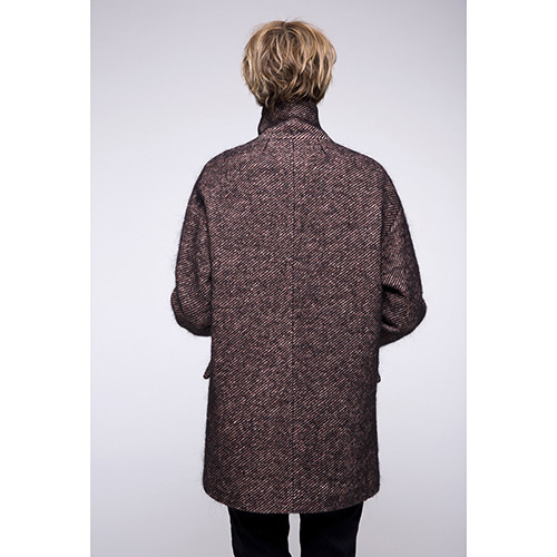 Пальто оверсайз Trench & Coat коричневого цвета, фото