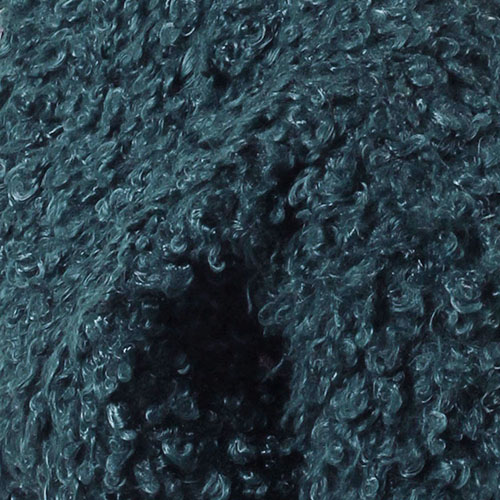 Короткое зимнее пальто The Body Wear из зеленого эко-каракуля, фото