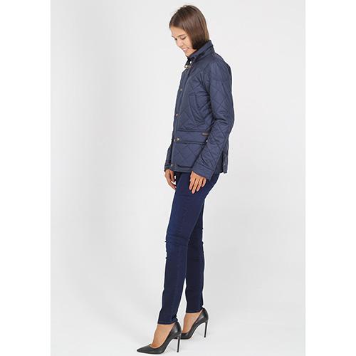 Стеганая куртка Polo Ralph Lauren синего цвета, фото