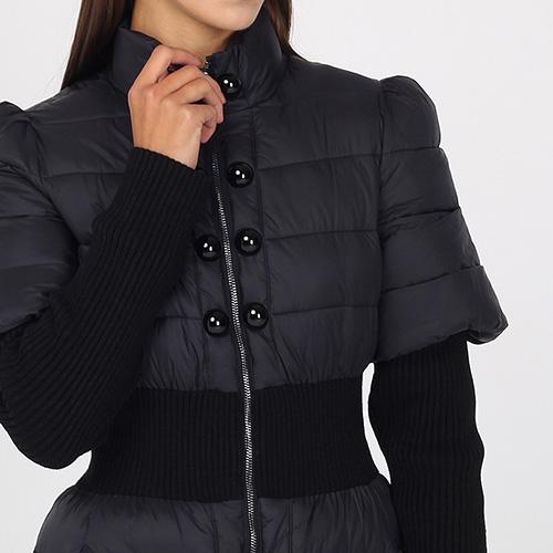 Стеганое пальто Emporio Armani средней длины, фото