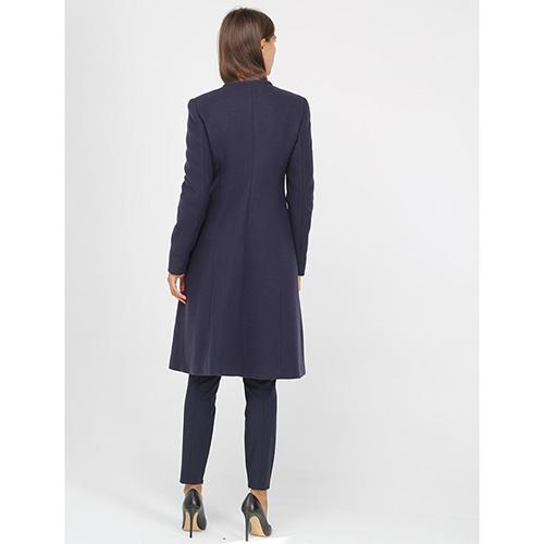 Пальто Armani Jeans приталенное синего цвета, фото