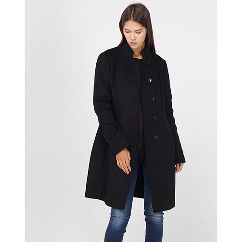 Классическое пальто Armani Jeans с воротником-стойкой, фото