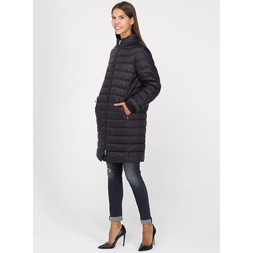 Зимнее стеганое пальто Bogner длиной до колена, фото