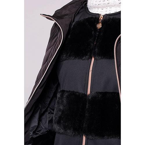 Комплект из куртки и жилета Ea7 Emporio Armani черного цвета, фото