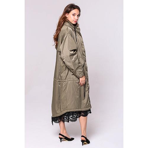 Длинная куртка Love Moschino с кружевом, фото