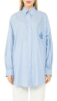 Рубашка Etro с вышивкой на кармане, фото