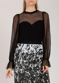 Гипюровая блуза Riani черного цвета, фото