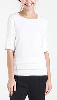 Белая блуза Shako с рукавом до локтя, фото