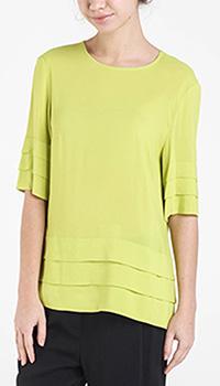 Блуза Shako салатового цвета, фото