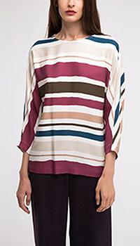 Блузка Shako в широкую полоску, фото