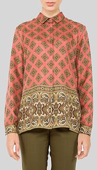 Рубашка Etro с принтом-орнаментом, фото