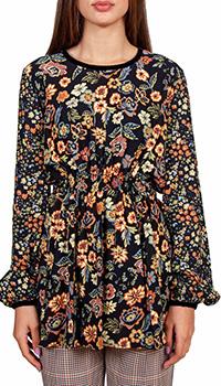 Женская блузка Sfizio с флористическим принтом, фото