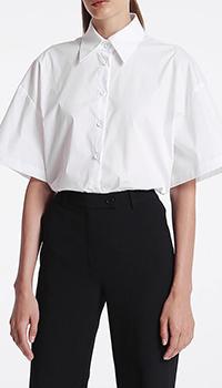 Рубашка с широким рукавом Shako белого цвета, фото