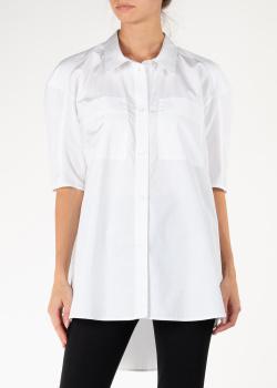Удлиненная рубашка Nina Ricci белого цвета, фото