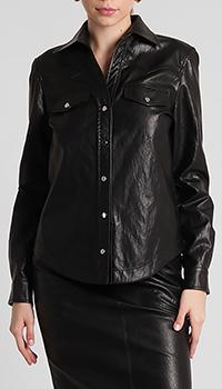 Женская рубашка Pinko черного цвета, фото