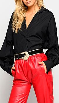 Блузка Pinko с бахромой, фото