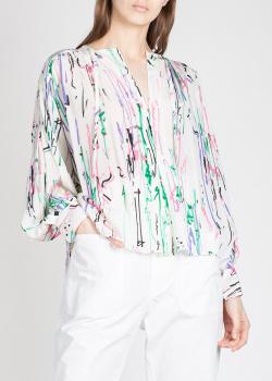 Шелковая блуза Isabel Marant с длинным рукавом, фото