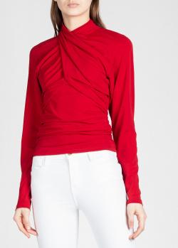 Красная блузка Isabel Marant со складками, фото