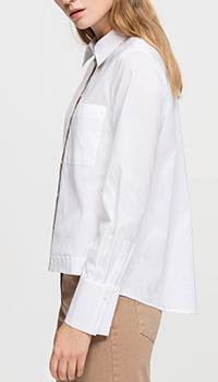 Женская рубашка Luisa Cerano белого цвета, фото