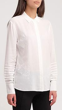 Белая рубашка Sportalm Kallisto с вышивкой, фото