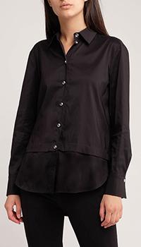 Женская рубашка Airfield черного цвета, фото