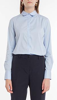 Классическая рубашка Riani светло-голубого цвета, фото