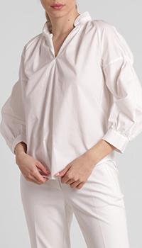 Белая рубашка Riani с пышным рукавами, фото