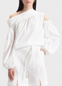 Белая блузка D.Exterior с открытыми плечами, фото