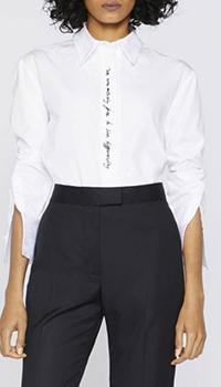 Белая рубашка Stella McCartney с длинным рукавом, фото